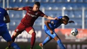 Трима българи дебютираха в Румъния, Чандъров със шокиращ пропуск (видео)