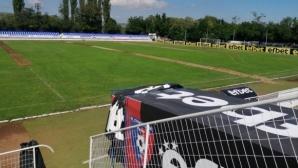 Слагат поливна система на стадиона в Радомир