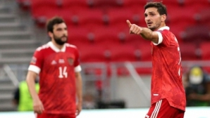 Унгария загуби от Русия в Лигата на нациите