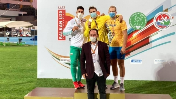 Валентин Андреев спечели сребро на Балканиадата за юноши и девойки под 20 години