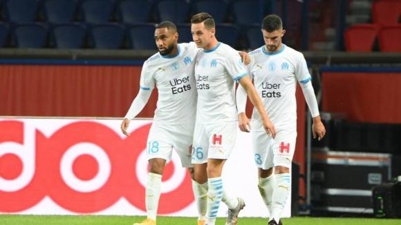 "Бой, 5 червени картона и радост за Марсилия на ""Парк де Пренс"" след девет години чакане"