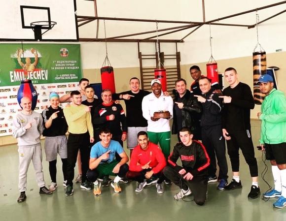 Мъжкият национален отбор по бокс започва лагер на Дианабад