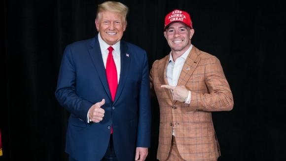 Доналд Тръмп поздрави Колби Ковингтън за победата