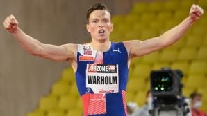 Вархолм подобри още един рекорд, но не световния