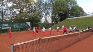 Националите до 12 и 14 г. загубиха от Чехия на European Nations Junior Tennis Trophy 2020