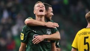 Краснодар вкара 7 гола на новак