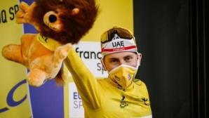 "Тадей Погачар спечели ""Тур дьо Франс"""