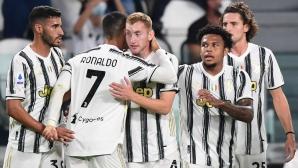 """Ювентус 1:0 Сампдория, Кулешевски откри головата си сметка за """"бианконерите"""""""