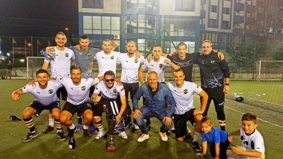 Кишишев връчи трофея от Шампионска лига на DXC Technology