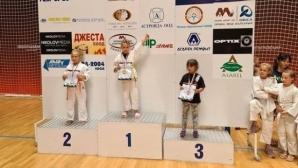 7-годишно момиче от Разград стана абсолютен шампион по джудо