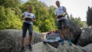 Валентина Лилова и Петър Иванов са победители в третото издание на Red Bull Moreni Challenge