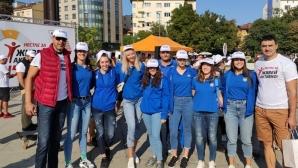 Шампионките от Марица се включиха отново в инициативата Живей Активно