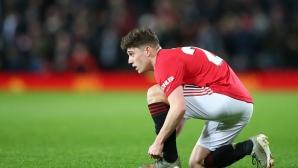 Даниел Джеймс не иска да си тръгва от Манчестър Юнайтед