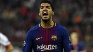 Луис Суарес ще продължи кариерата си в Атлетико Мадрид