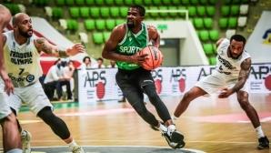 """Спортинг се завърна в европейския баскетбол с победа в """"Арена Ботевград"""""""