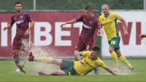 Осмият кръг на Втора лига продължава с нови четири срещи