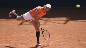 Тенисистка с любопитно и смело решение при мачбол (видео)