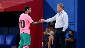 Меси вече преодоля всичко, спокоен е треньорът на Барса