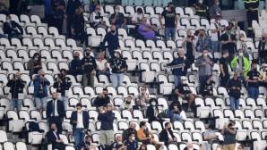 Италианските власти отказаха да увеличат броя на феновете по трибуните