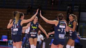 Елица Василева с 16 точки, Казалмаджоре отстъпи на Тренто (снимки)