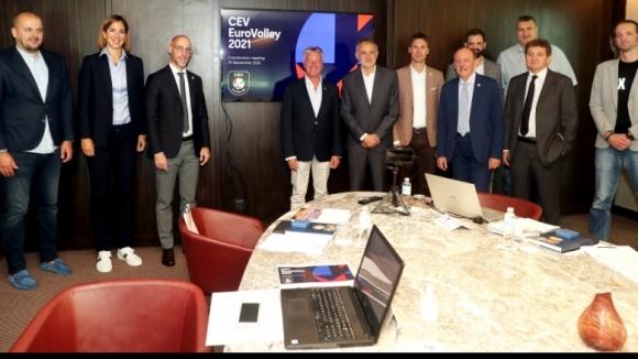 В Белград обсъдиха организацията на Евроволей 2021 за...