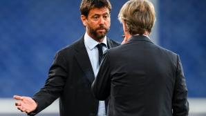 Босът на Ювентус изненадващо се появи в офиса на Милан