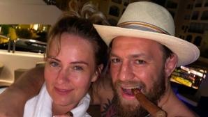 Конър Макгрегър засили слуховете за тайна сватба (снимки)