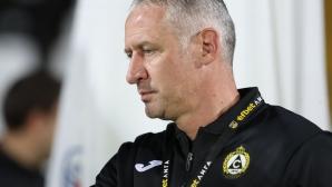Кушев: Когато си с една точка от няколко мача, винаги има напрежение и страх