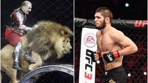 Дресьор предложи на Хабиб схватка с лъв