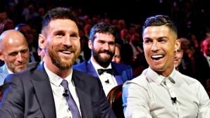 Следете жребия за групите на Шампионската лига: Роналдо срещу Меси