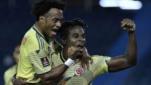 Колумбия тръгна ударно към Мондиал 2022