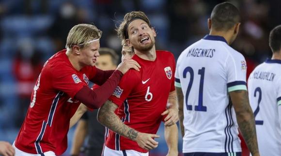 Автогол донесе успеха на Норвегия срещу Северна Ирландия (видео)