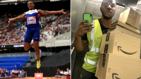 Британският атлет, който стана шофьор по време на пандемията, събра пари за олимпийска подготовка