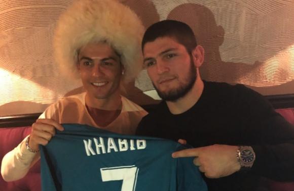 Кристиано Роналдо: С позволението на Аллах Хабиб ще бие Гейджи