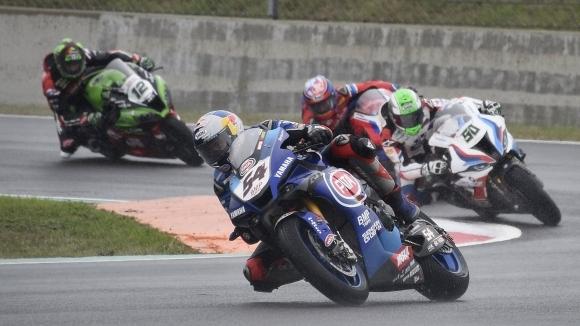 """Yamaha окупира подиума в суперпол състезанието на """"Ещорил"""""""