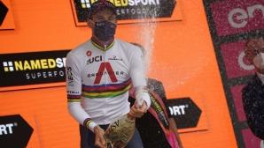 """Филипо Гана отново показа, че най-добрият """"часовникар"""" в света с победа в Джиро д'Италия"""