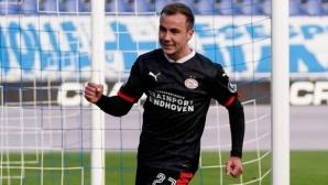 Гьотце дебютира с гол за ПСВ Айндховен (видео)