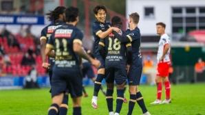 Антверпен загря за Разград с успех в първенството