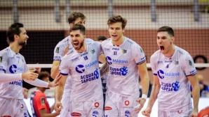 Георги Сеганов и Чистерна с първа победа в Италия (видео + галерия)