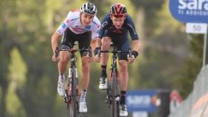 """Вилко Келдерман е новият водач в """"Джиро""""-то, Джей Хиндли триумфира в един от най-тежките етапи"""