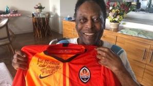 Пеле получи подарък от бивша звезда на ЦСКА