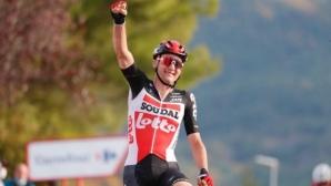 Белгиец спечели петия етап на колоездачната Обиколка на Испания