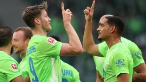 Рекорден за кръга брой фенове видяха първи домакински успех за Волфсбург от 8 месеца насам