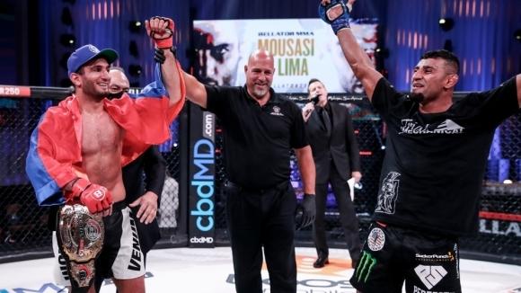 Гегард Мусаси надигра Дъглас Лима и си върна титлата