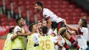 Късна драма реши крайния изход на дербито на Бразилия