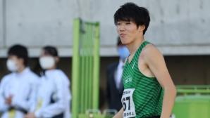 23-годишен японец с отличен резултат в скока на височина