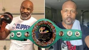Показаха специалния пояс на WBC за битката Майк Тайсън – Рой Джоунс