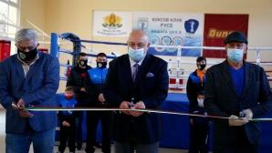 Красен Кралев откри зала по бокс в Русе (снимки)