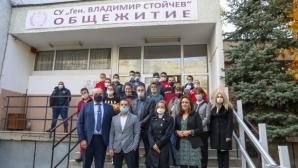 """Зам.-министър Андонов откри обновената сграда на Спортно училище """"Генерал Владимир Стойчев"""""""