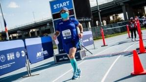 59-годишна пребори COVID-19 и избяга маратон 5 месеца по-късно